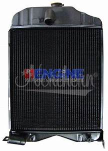 New Radiator Massey Ferguson Fits  Model 50  Model 65 W   Gas Or Lp Engine  U2013 Rebuild Engine Parts