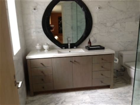 Wire Brushed Oak Cabinets by Wire Brushed Rift White Oak Cabinet Ideal Cabinets Inc