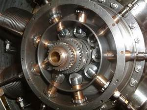 Gnome Rotary Engine