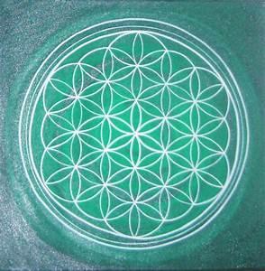 Blume Des Lebens Fensterbild : blume des lebens gr nt ne energie blume des lebens heilige geometrie lebensblume von ~ Indierocktalk.com Haus und Dekorationen