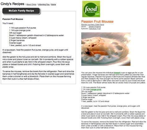 food recipe mccain quot family recipes quot lifted from the food network huffpost