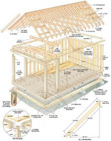 cabin building plans free cool cabin plans