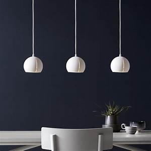 Suspension Luminaire Blanc : suspension gap pendant round blanc 15cm h14cm woud ~ Teatrodelosmanantiales.com Idées de Décoration