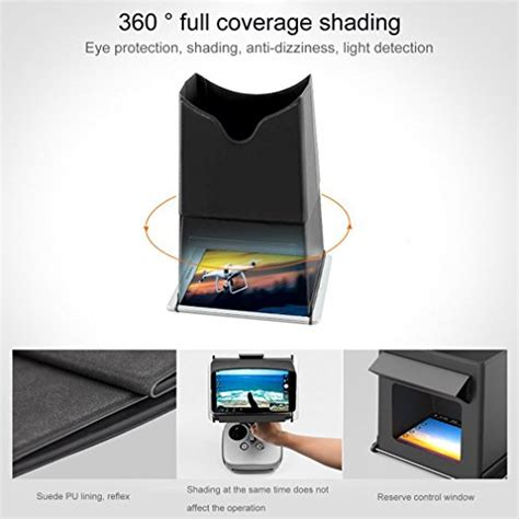 favrison  ipad mini sun shade fpv monitor sun