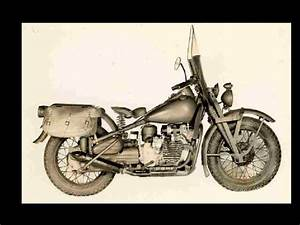 Harley Davidson Wla Service  U0026 Parts Manuals 270pgs With