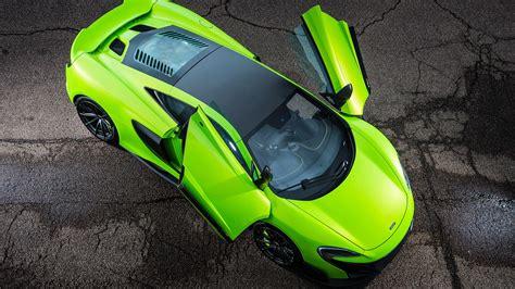 Mclaren 675lt Green Supercar Wings Wallpaper