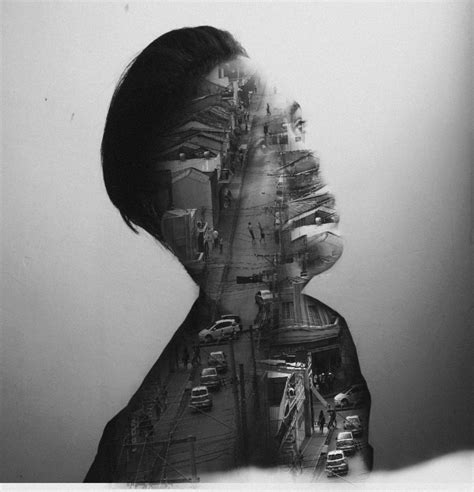 double exposure serie heitor magno canvas