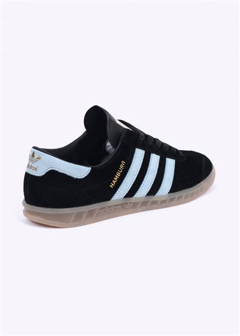 Original Blue Black adidas originals hamburg trainers black blue