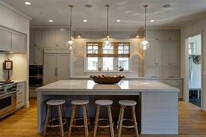 gray shiplap kitchen island with backless french bistro With what kind of paint to use on kitchen cabinets for french bistro wall art