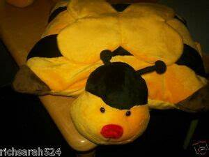 CUDDLEE BUMBLE BEE PILLOW PET