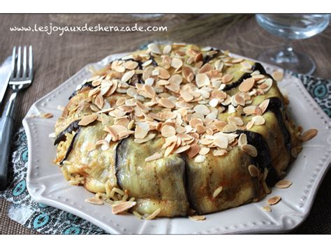 cuisine marocaine ramadan el maklouba aux aubergines المقلوبة بالباذنجان les