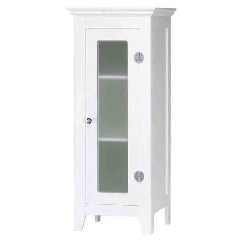 Small White Bathroom Floor Cabinet  Home Furniture Design