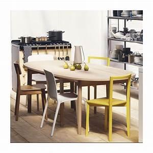 tallow chaises de salle a manger blanc plastique habitat With salle a manger plastique