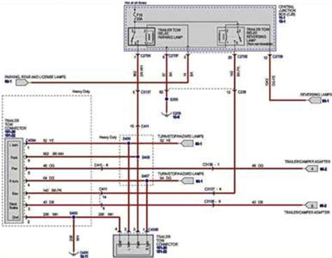 Hitch Wiring Diagram For 2001 Ford F 150 by 2002 F150 Trailer Wiring Diagram Schematic Wiring