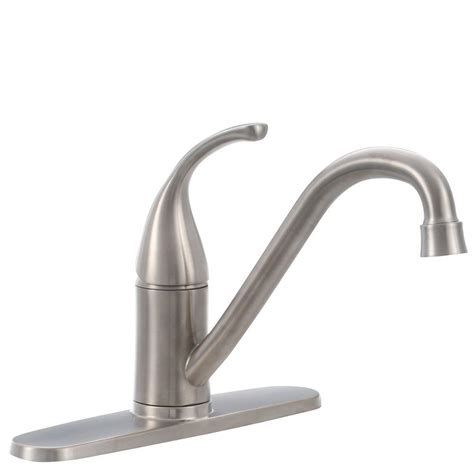 glacier bay kitchen faucets glacier bay builders single handle standard kitchen faucet