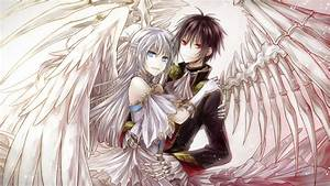 Anime Angel Boy And Demon Girl Love Im a girl an a demon ...