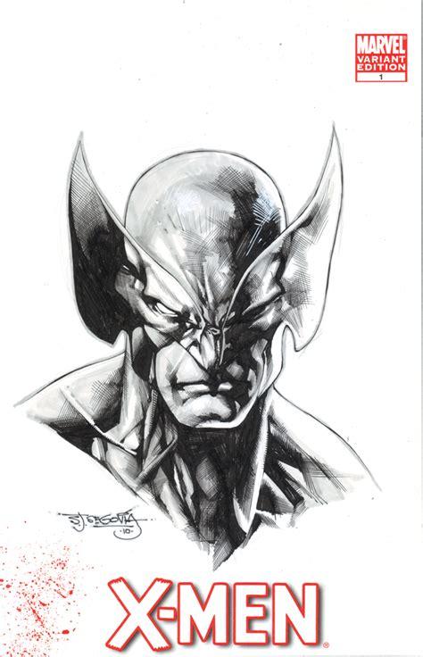 Wolverine Sketch By Sjsegovia On Deviantart