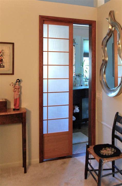 cherry tree design japanese sliding doors pocket shoji