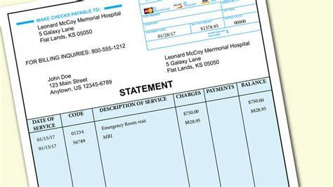 medical bill 5 ways to handle a bill money 30