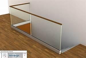 Garde Corps En Verre : le garde corps tout verre d 39 inox design une solution ~ Melissatoandfro.com Idées de Décoration