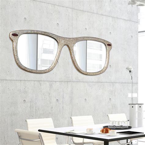 specchi arredo design specchio d arredo da parete a forma di occhiale decorato a