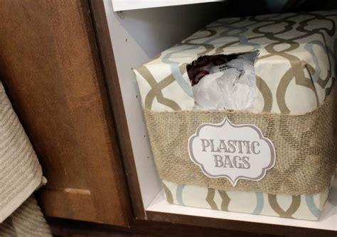 astuce pour ranger les sacs plastiques 10 id 233 es pour ranger les sacs en plastiques