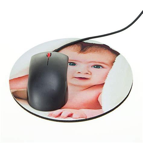 tapis de bureau personnalisé tapis de souris rond photo personnalisée ideecadeau fr