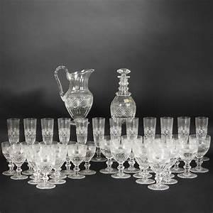 Service De Verre En Cristal : service de verres en cristal de saint louis 2010090276 expertissim ~ Teatrodelosmanantiales.com Idées de Décoration