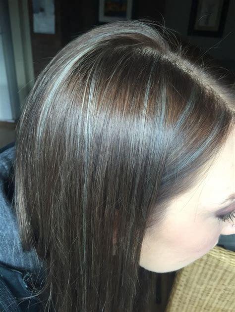 grey highlights  dark hair google search health