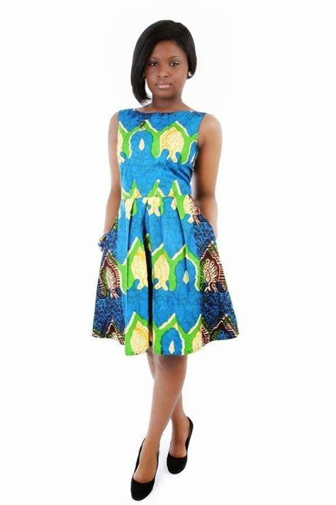 The Traditional Kitenge Short Dresses 2017