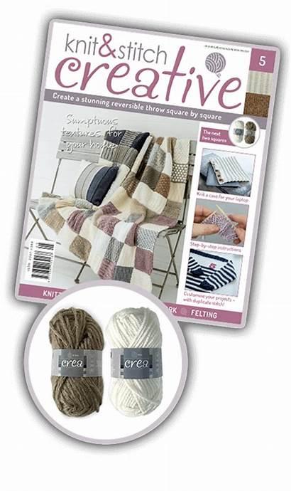 Issue Knit Knitting Stitch Creative Creacrafts