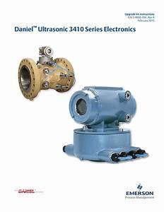 Daniel Ultrasonic 3410 Series Electronics Upgrade Kit