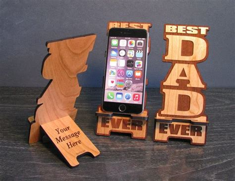 fathers day gift  dad phone stand   phonetastique