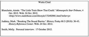 Mla Format Works Cited Template Best Photos Of Mla Interview Format Example Mla Format