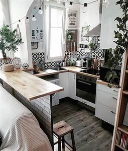 Küchentisch Kleine Küche : kleine k che gestalten und organisieren kreativliste ~ Watch28wear.com Haus und Dekorationen
