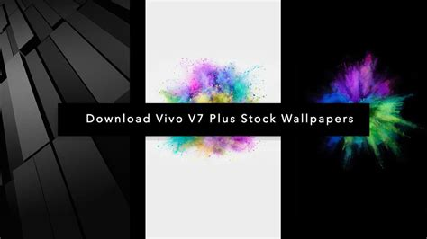 [download] Vivo V7 Plus Stock Wallpapers In Full Hd Resolution
