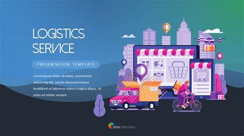 Logistics Service PowerPoint Templates