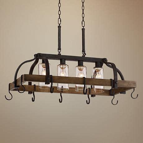 kitchen light with pot rack best 25 pot racks ideas on 8329