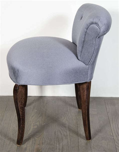 vanity chair with back 1940 s scroll back vanity chair stool with