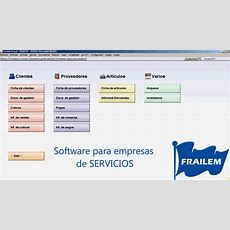 Software Para Gestionar Empresas De Servicios Youtube