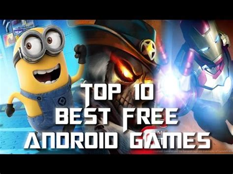 Top 10 Best Free Android Games 20142015 (gameloft) #1