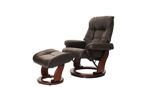 Recliner And Stool knightsbridge swivel recliner chair and stool in