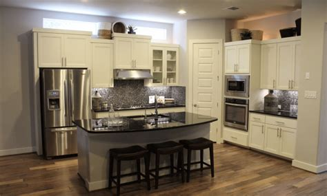 match kitchen cabinet countertops  flooring combinations