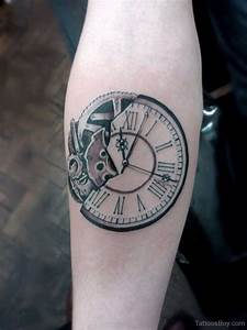 Clock Tattoos | Tattoo Designs, Tattoo Pictures | Page 27