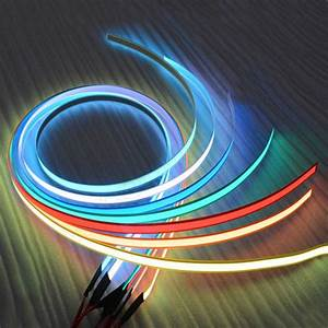 12v 1m Flexible Glow El Tape Led Light El Wire Rope Cable