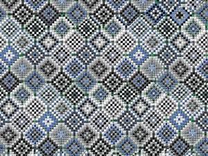 Papier Peint Motif Geometrique : papier peint motifs g om triques pour salle de bain ~ Dailycaller-alerts.com Idées de Décoration