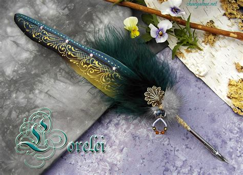 lorelei feather quill   chaey  chaeyahne