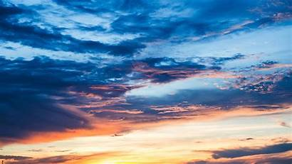 Sky Sunset Clouds 4k Cloudy Under Resolution