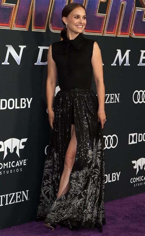 Natalie Portman Rocks Corseted Dress Lucy The Sky