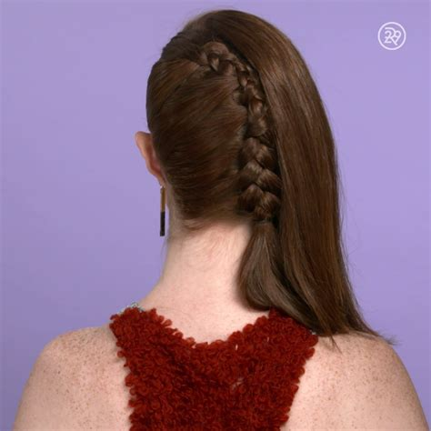 A One Sided French Braid Video Hair Hair Styles Long